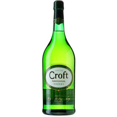 Buy Croft Original Sherry 75cl  Croft Original pale cream is a suitable blend of the pale dryness of quality fine sherry, with the added depth and body of a cream. Price includes free UK Mainland Delivery, and Exports and international delivery available.