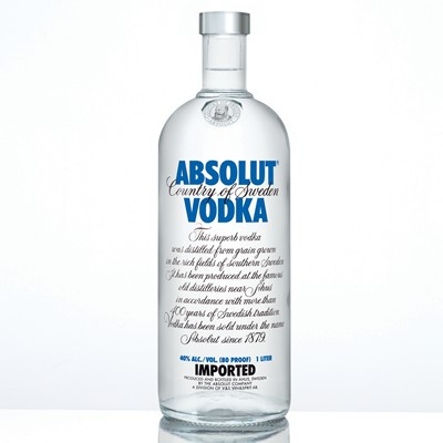 Absolut Swedish Vodka 70Cl This superb vodka was distilled from grain grown in the rich fields of southern Sweden. If has been produced at the famous old distilleries near Ahus in accordance with more than 400 years of Swedish tradition. Vodka has been sold under the name Absolut 1879. Price includes free UK Mainland Delivery, and Exports and international delivery available.