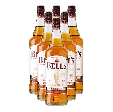 Buy a case of Six Bells whisky a rich nutty blend based around the malt whisky from Blair Athol. Price includes free UK Mainland Delivery, and Exports and international delivery available.