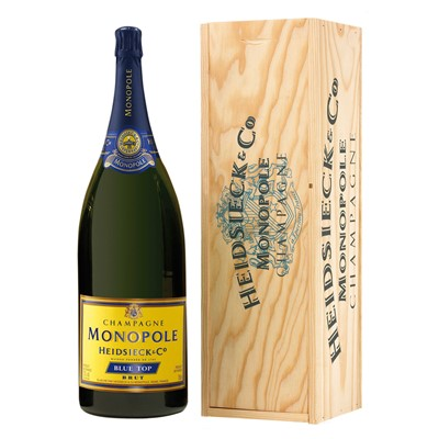 Send Heidsieck & Co. Monopole Blue Top Brut  Jeroboam Champagne 300cl Online