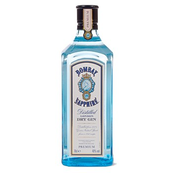 Buy a bottle of Bombay Sapphire 75cl Gin Online Now. Price includes free UK Mainland Delivery, and Exports and international delivery available.
