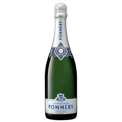 Send Pommery Brut Silver Champagne 75cl Online