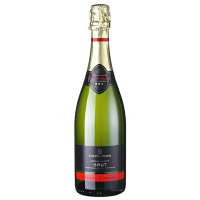 Chapel Down Brut NV England is refreshing, zesty and balanced sparkling wine has fine bubbles that wrap around all corners of the mouth.
