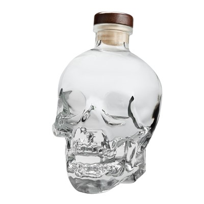 This is one of the most brilliant things ever to be, also one of the very finest celebrity endorsed products we've ever seen. Created for the legendary Dan Aykroyd, Crystal Head Vodka is kosher certified, and made using Newfoundland water which is filtered through 500 million year old crystals called Herkimer diamonds. The bottle is made in Italy by Bruni Glass. . Price includes free UK Mainland Delivery, and Exports and international delivery available.