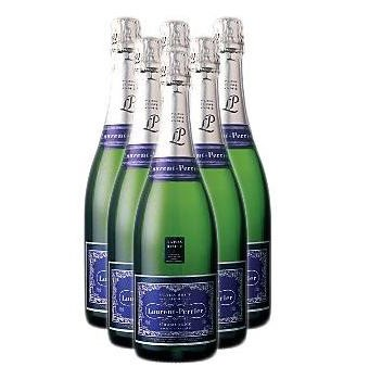 Buy Case of Twelve Laurent Perrier Ultra Brut NV 75cl Bottles Bulk Packed in a single case. . Price includes free UK Mainland Delivery, and Exports and international delivery available.