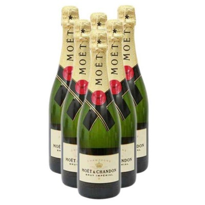 Buy Case of Six Moet et Chandon NV 75cl Bottles Bulk Packed in a single case. . Price includes free UK Mainland Delivery, and Exports and international delivery available.