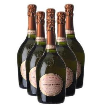 Buy Case of Twelve Laurent Perrier Cuvee Rose NV 75cl Bottles Bulk Packed in a single case. . Price includes free UK Mainland Delivery, and Exports and international delivery available.