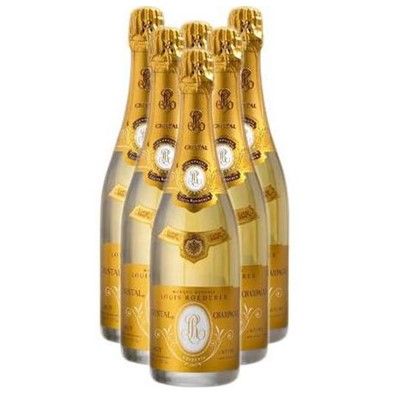 Buy Case of Twelve Cristal 2009 by Louis Roederer 75cl Bottles Bulk Packed in a single case. . Price includes free UK Mainland Delivery, and Exports and international delivery available.