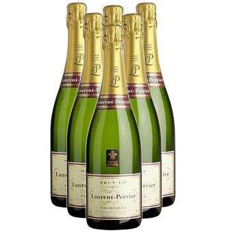 Buy Case of Six Laurent Perrier La Cuvee NV 75cl Bottles Bulk Packed in a single case. . Price includes free UK Mainland Delivery, and Exports and international delivery available.