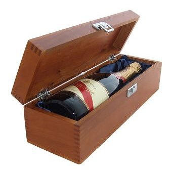 Buy a single bottle of Mumm Cordon Rouge NV Champagne 75cl Presented in a luxurious stained wooden box with hinged lid and clasp. The box is lined with silver satin and comes with a Gift Card for your personal message. . Price includes free UK Mainland Delivery, and Exports and international delivery available.