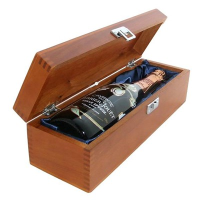 Buy a single bottle of Perrier Jouet Belle Epoque Brut Vintage 2011 Champagne Presented in a luxurious stained wooden box with hinged lid and clasp. The box is lined with silver satin and comes with a Gift Card for your personal message. . Price includes free UK Mainland Delivery, and Exports and international delivery available.