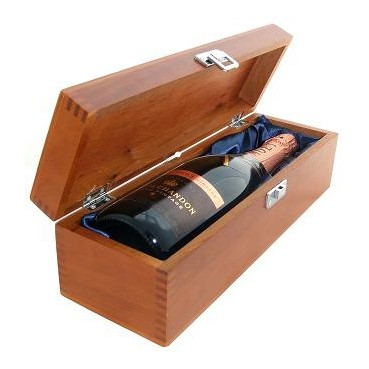 Buy a single bottle of Moet & Chandon Vintage Rose 2009 Champagne Presented in a luxurious stained wooden box with hinged lid and clasp. The box is lined with silver satin and comes with a Gift Card for your personal message. . Price includes free UK Mainland Delivery, and Exports and international delivery available.