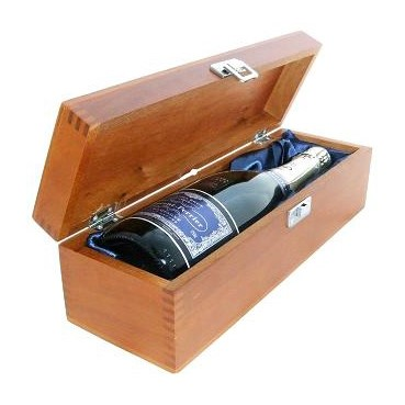 Buy a single bottle of Laurent Perrier Ultra Brut NV Champagne 75cl Presented in a luxurious stained wooden box with hinged lid and clasp. The box is lined with silver satin and comes with a Gift Card for your personal message. . Price includes free UK Mainland Delivery, and Exports and international delivery available.