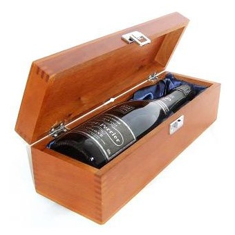 Buy a single bottle of Laurent Perrier Brut Vintage 2007 Champagne 75cl Presented in a luxurious stained wooden box with hinged lid and clasp. The box is lined with silver satin and comes with a Gift Card for your personal message. . Price includes free UK Mainland Delivery, and Exports and international delivery available.
