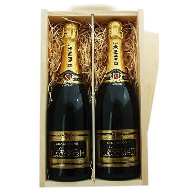 Buy Two x 75cl bottles of Lanson Black Label NV Champagne supplied in a wooden timber case lined with wood wool. Available for UK mainland delivery only Export delivery price available on request . Price includes free UK Mainland Delivery, and Exports and international delivery available.