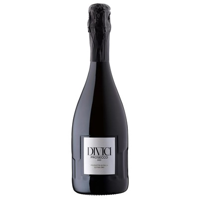 Divici Prosecco DOC DIVICI Prosecco epitomises the best Italy has to offer. The Style is fruity light and aromatic. Classicly Harmonic. . Price includes free UK Mainland Delivery, and Exports and international delivery available.