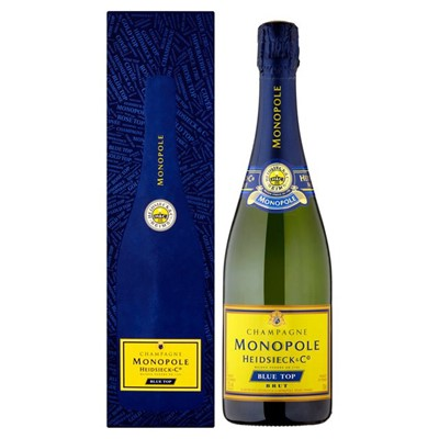 Send Heidsieck And Co. Monopole Blue Top Brut Champagne 75cl Online