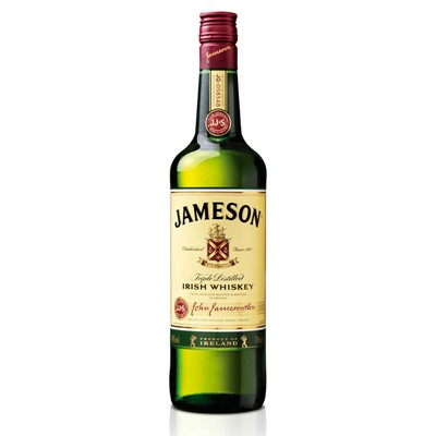 Buy 70cl Jameson's is the Number One International Irish Whiskey . Price includes free UK Mainland Delivery, and Exports and international delivery available.