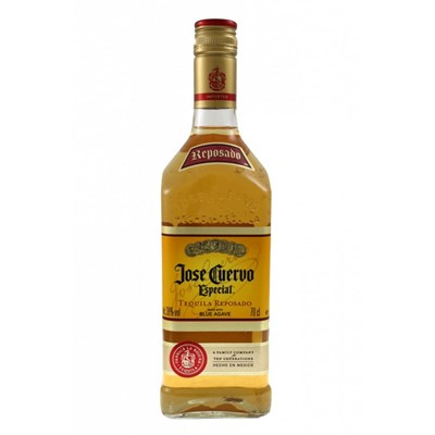 Jose Cuervo Especial gets its distinctive golden colour and smooth mellow taste from resting in oak casks. Drink neat, on the rocks or as a base for a superior Margarita. Price includes free UK Mainland Delivery, and Exports and international delivery available.