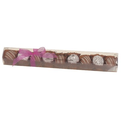 Kimberley's Luxury Handmade Champagne Truffles - 1 Strip, 18 x Exquisite hand made Milk and Dark chocolate champagne truffles. Each one is a work of art and absolutely delicious! (100g)