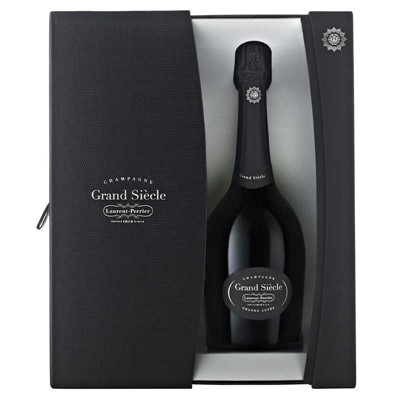 Laurent Perrier Grand Siecle To produce Laurent Perrier's luxury cuvee Bernard de Nonancourt decided to concentrate on two of the mainstays of Champagne's know Perrier. Made to be given or shared with friends and family it is a very seductive Champagne totally enjoyable. Price includes free UK Mainland Delivery, and Exports and international delivery available.