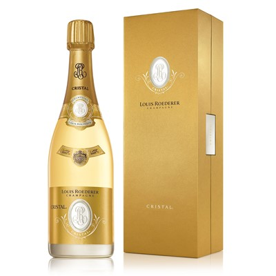 Buy Vintage Champagne a single bottle of Louis Roederer Cristal Vintage 2012 Champagne (75cl)