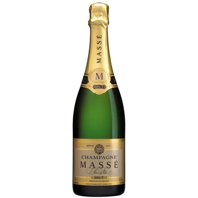 Masse Brut Champagne 75cl  Second house of lanson Champagne Masse. This dry Champagne displays citrus and floral aromas on the nose. In the mouth, it offers tart apple flavors with hints of minerality.  . Price includes free UK Mainland Delivery, and Exports and international delivery available.