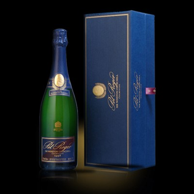 Send a single bottle of Pol Roger Special Cuvee Sir Winston Churchill 2004 Champagne 75cl Presented in its own very stylish Pol Roger Gift Box Sir Winston Churchill said about this champagne Im easily satisfied with the best. This one is really very special. Price includes free UK Mainland Delivery, and Exports and international delivery available.