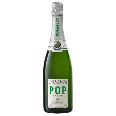 Send Pommery Pop Earth Champagne 75cl Online