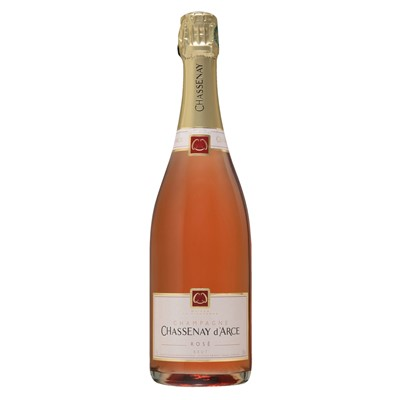 Send a single bottle of Chassenay d'Arce Rose Brut NV Champagne (75cl) Presented in a stylish Gift Box with Gift Card for your personal message  A Salmon pink wine with a lovely brick red tint gives life to a cordon of light bubbles. The smell is expressive warm and pleasing with its notes of red fruits soft spices. Price includes free UK Mainland Delivery, and Exports and international delivery available.