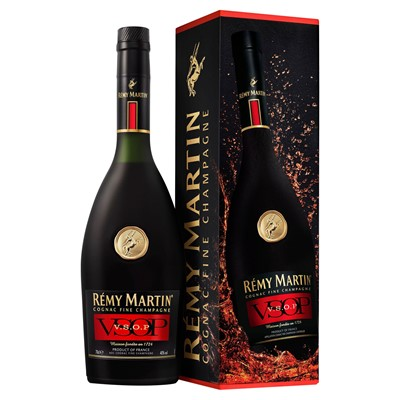 Buy a bottle of Remy Martin VSOP 70cl Online Now. Dark amber colour with notes of vanilla, oak, dried rose and apricot brings forth an interesting harmony that is wonderfully warming and mellow that deserves to be sipped and savoured. Price includes free UK Mainland Delivery, and Exports and international delivery available.