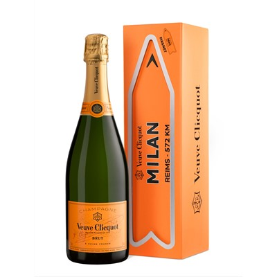 Veuve Clicquot Yellow Label Brut Arrow City Magnet Milan