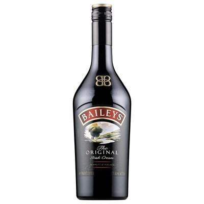 Baileys is a natural marriage of fresh Irish cream, Irish whiskey and the finest of spirits. Price includes free UK Mainland Delivery, and Exports and international delivery available.