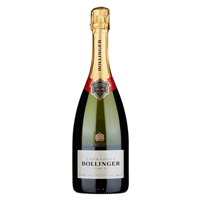 Buy Send a single bottle of Bollinger Special Cuvee NV Champagne 75cl Presented in a stylish Gift Box with Gift Card with your personal message Bollinger are traditionalists and their big biscuity style of champagne has always reflected this. . Price includes free UK Mainland Delivery, and Exports and international delivery available.