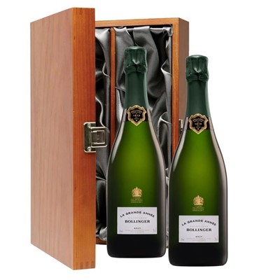 Bollinger Grande Annee, 2007 Vintage Champagne Twin Luxury Gift Boxed (2x75cl)