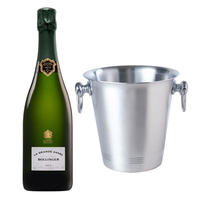 Bollinger Grande Annee, 2007 Vintage Champagne With Ice Bucket Set