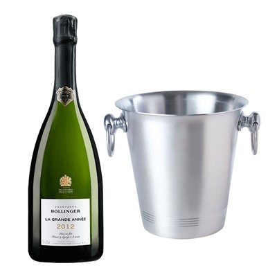 Bollinger Grande Annee, 2012 Vintage Champagne With Ice Bucket Set