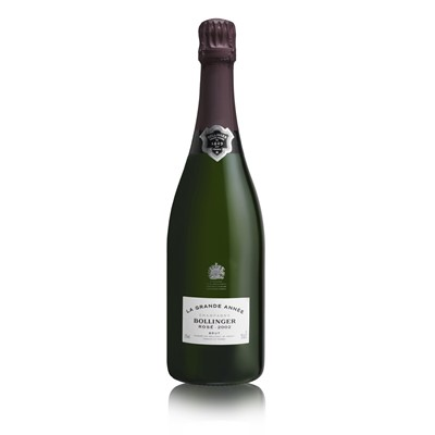 Buy a single bottle of Bollinger Grande Annee Vintage Rose 2005 Champagne Presented in a stylish Bollinger Gift Box . Price includes free UK Mainland Delivery, and Exports and international delivery available.