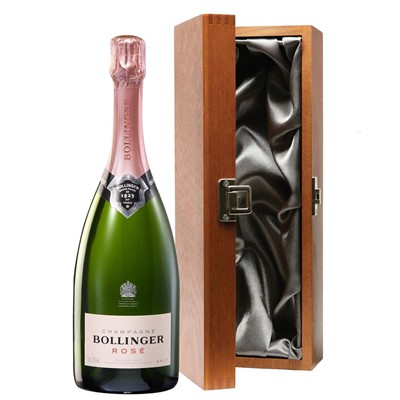 Bollinger Rose Champagne 75cl in Luxury Gift Box