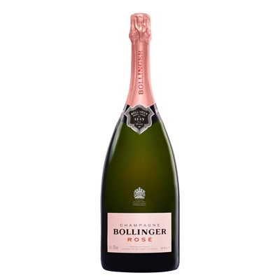 Magnum of Bollinger Rose In Wooden Box  Bollinger Champagnes Non Vintage Rose Champagne is a special non vintage rose  the first to come from Bollinger for more than 30 years. Price includes free UK Mainland Delivery, and Exports and international delivery available.