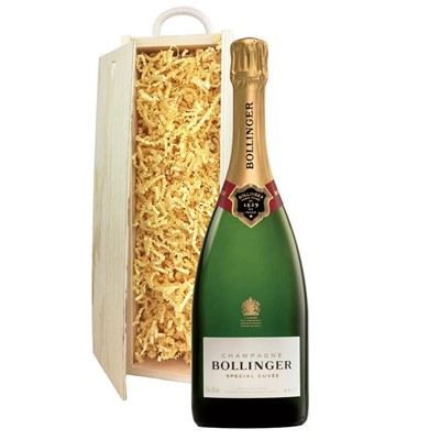 Bollinger Special Cuvee, Champagne 75cl In Pine Gift Box