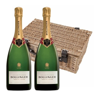 Bollinger Special Cuvee, Champagne 75cl Twin Hamper (2x75cl)