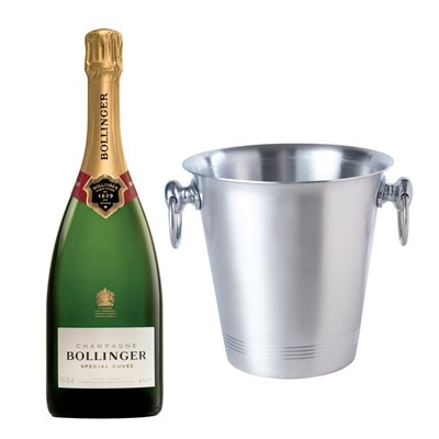 Bollinger Special Cuvee, Champagne 75cl With Ice Bucket Set