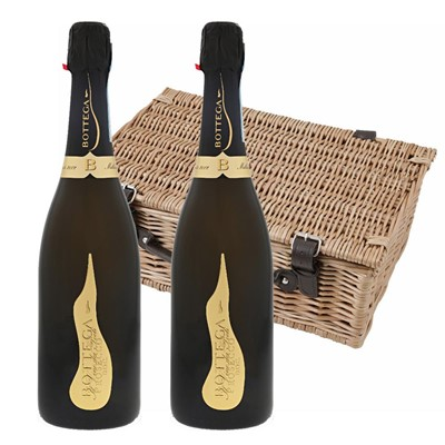 Bottega Vino dei Poeti Prosecco DOC 75cl Twin Hamper (2x75cl)