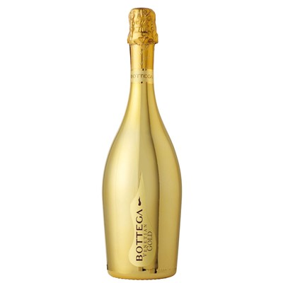 Bottega Gold Prosecco has a fruity nose of Golden Apple and Pears along with flowery scents of Acacia and Lily of the Valley and is fresh and aromatic.
