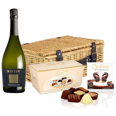 Botter Prosecco 75cl And Chocolates Hamper