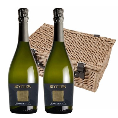 Botter Prosecco 75cl Twin Hamper (2x75cl)