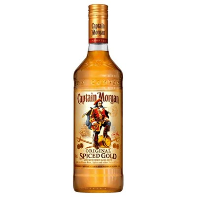 Captain Morgan's Spiced Rum   A blend of golden rum with mellow spices of Cassia and Vanilla giving it a distinctive and appealing flavour. Easy to mix and smooth to drink.Enjoy with cola lemonade or orange juice & ice.  . Price includes free UK Mainland Delivery, and Exports and international delivery available.