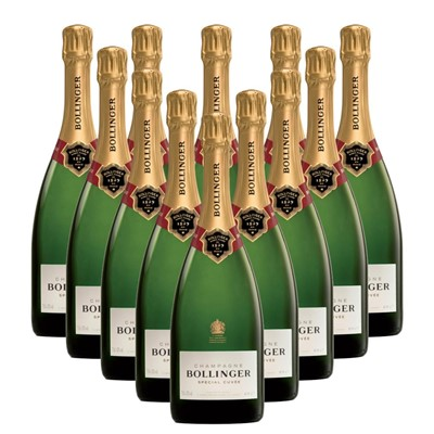 Case of 12 Bollinger Special Cuvee, Champagne 75cl