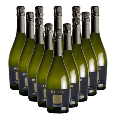Case of 12 Botter Prosecco 75cl